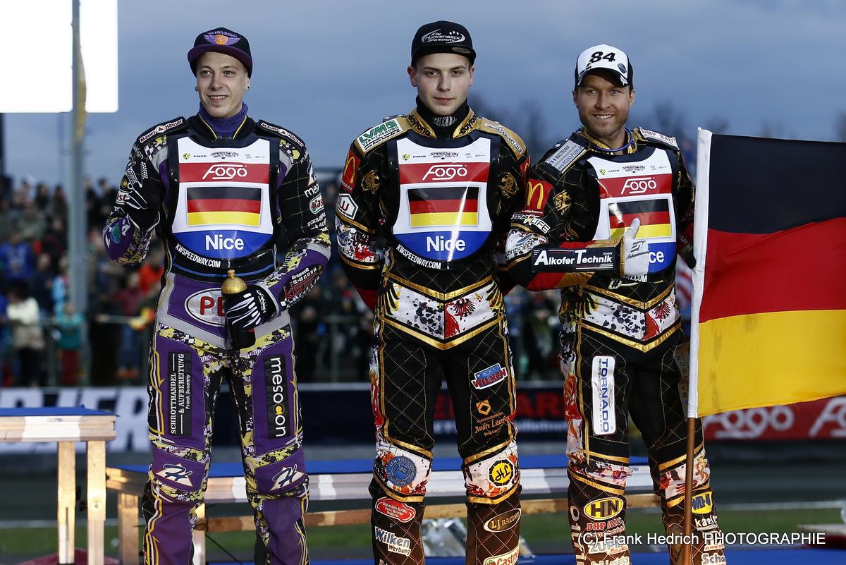 (c) Frank Hedrich - Speedway Team Germany - Tobias Busch, Kai Huckenbeck, Martin Smolinski