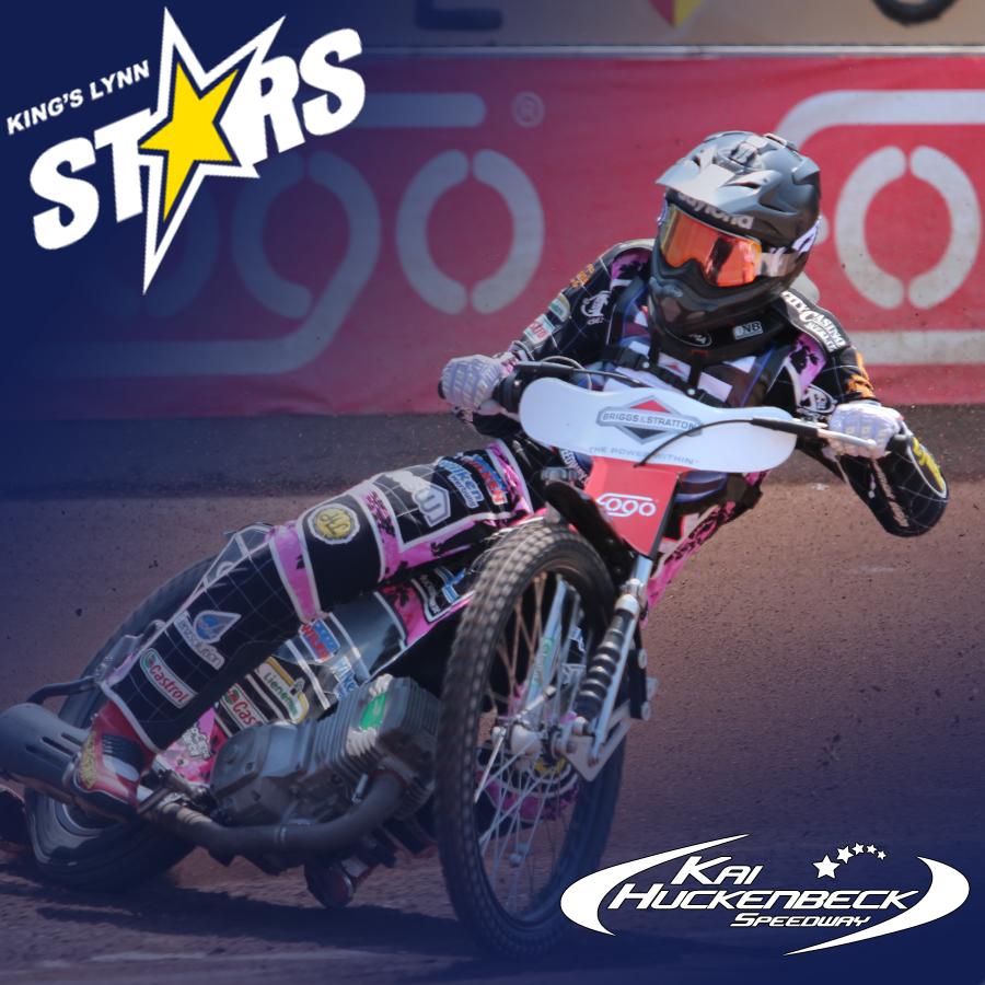 Kai Huckenbeck fährt 2016 für die Kings Lynn Stars