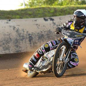 Kai Huckenbeck beim Speedway Team Cup in Wittstock